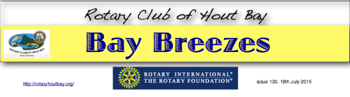 Bay Breezes 19 July 2015