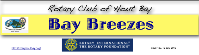 Bay Breezes -12 July 2015