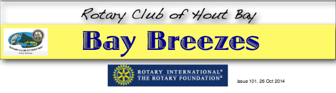 Bay Breezes: issue 101, 26 Oct 2014
